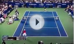 James Blake - The greatest winner of all times | US Open