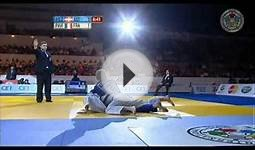 Judo Grand Slam in Moskau 2011: semi final -57kg FILZMOSER