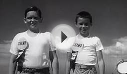 Kedso the Clown Keds Shoes Commercial circa 1958 US Rubber