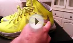 Lebron x 10 volt reverse dunkman tennis ball Review On