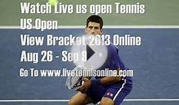 Live Tennis US Open New York 2013 Singles Mens And Womens