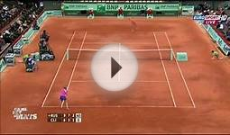 Luckiest shot in grand slam tennis