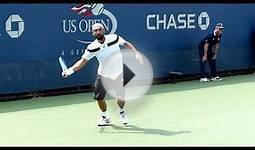 Marcos Baghdatis - US Open 2013 - Slow motion video