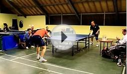 Mark vs Steve - Bristol Table Tennis Division I