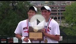 Memorial High School Boys Doubles Wins Tennis Title