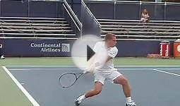 Midget Tennis Player at US Open