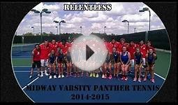 Midway High School Varsity Tennis 2014-15