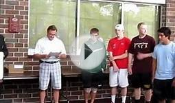 MN State High School Tennis Tourney / Doubles Ceremony - 2012