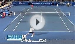 Nadal VS Berdych Mubadala World Tennis Championship 2011