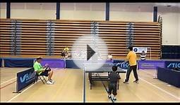 National Junior Disability Championships 2013 Table Tennis