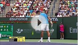 N.Djokovic - R.Federer Final Indian Wells 2015