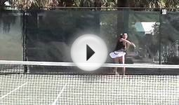Olga Gaistruk - high school tennis player - college