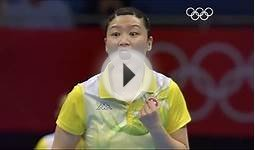 Olympic Table Tennis Highlights - London 2012 Olympics