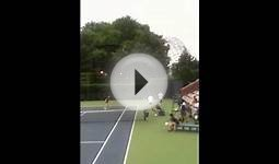 Owen US open ball boy tryout