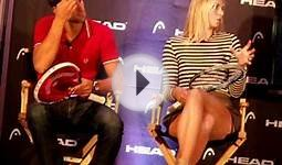 Part 2: Novak Djokovic & Maria Sharapova: NYC Head Tennis