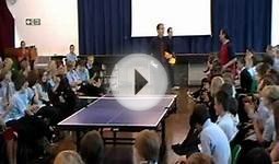 Patcham High School Table Tennis Assembly May 2011