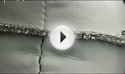 Pompeii3 2.00CT Diamond Tennis Bracelet 14K White Gold - $