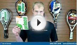 Prince Tennis Strings - Synthetic Gut with Duraflex 17g
