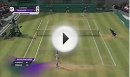 Roger Federer vs Novak Djokovic EA Grand Slam Tennis 2