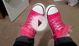 "Shoe of the Day / Pink Converse ""Chuck Taylor"""