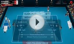 Stick Tennis Australian Open 2013- Novak Djokovic Part 1