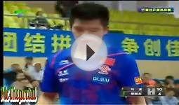 Table Tennis CHINA Warm-Up For WTTC 2013 -- Ma Long Vs Fan