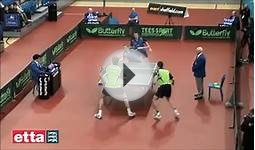 Table Tennis - Doubles Spectacular [HD]