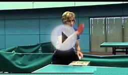 Table Tennis:Basic Exercises with Multi Ball