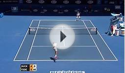 Tennis: Australian Open, Highlights Federer - Duckworth