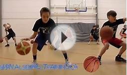 Tennis Ball Basketball Dribbling Drills