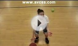 Tennis Ball Drills Right Hand Dribble for Youth Basketball