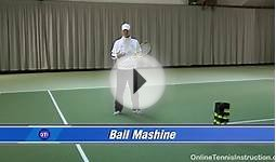 Tennis Ball Machine: The Tennis Twist
