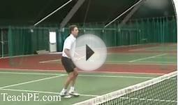 Tennis Drill - The High Volley
