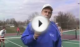 Tennis Drills, Around the Horn, Chariton High School