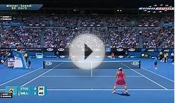 TENNIS ELBOW 2014 AUSTRALIAN OPEN 2015 GAMEPLAY - SAMANTHA