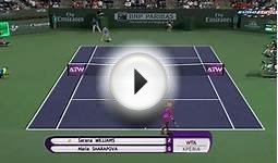 Tennis Elbow 2014 Indian Wells 2015 - Roger Federer vs