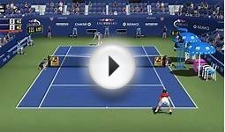 Tennis Elbow 2014 US OPEN 2014 PC GAME: Roger Federer vs