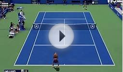 Tennis Elbow 2014 US OPEN 2014 GAMEPLAY SERENA WILLIAMS VS