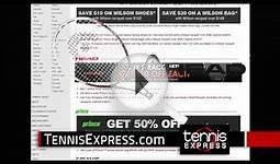 Tennis Express Pro Player Racquets | Free Ship | Federer