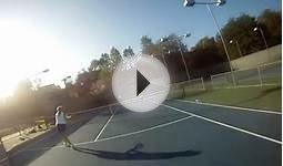 Tennis Head strap cam #2