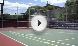 Tennis @ Old Boys High School Courts Part 2
