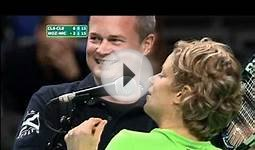 Tennis Player Kim Clijsters Dares Fan To Kiss Opponent (Video)