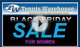 Tennis Warehouse Black Friday Deals for Women 2013
