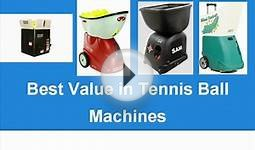 The Best Tennis Ball Machine