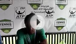 Tim Smyczek on Big Upset of Sam Querrey at Tennis Hall of Fame