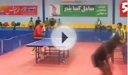 Top 10 best table tennis back shots of all time!