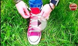 TOP 3 Ways To Lace Shoes - Video Tutorial of 3 Best Shoe
