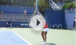 Turkish Female Tennis Player at 2013 US Open