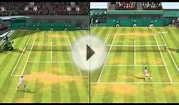 Two Player Mode - EA Grand Slam Tennis 2 - PS3 Fitness