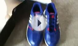 Unboxing my new tennis shoes (adidas Women`s adipower